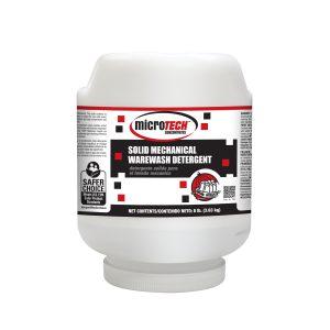 MicroTECH™ Solid Mechanical Warewash Detergent